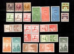 Danemark Belle Petite Collection D'anciens Neufs **/* 1904/1934. Bonnes Valeurs. B/TB. A Saisir! - Collections