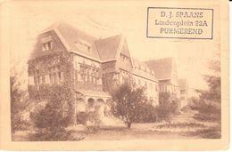 Bruxelles - CPA - Brussel - Uccle - Sanatorium Du Fort Jaco - Ukkel - Uccle