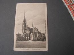Saarbrücken Kirche  1917 - Saarbrücken