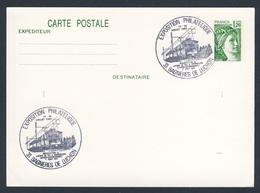 France Rep. Française 1982 Card / Karte / Carte Postale - Inaug. Chemin De Fer Lucon - Superbagneres / Zahnradbahn / Cog - Trains