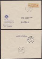 """DDR ZKD B19IC COTTBUS Rat Des Bezirkes Umschlag Mit 5-Jahrplan Propaganda Rückseite """"Vorwärts Für Den Frieden.."""" - [6] Oost-Duitsland"""