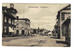DE1218  SWEDEN  MALMBERGET GATUPARTI  POSTCARD - Suède