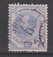 CURACAO Nederlandse Antillen 4 Used ; Koning King Rey Roi Willem III First Serie 1873 - Curaçao, Nederlandse Antillen, Aruba