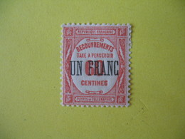 France Timbres-Taxe  N° 63   Neuf  Avec Charnière - Postage Due