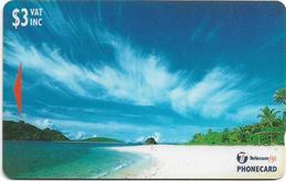 Fiji - Wayasewa Yasawa Islands - 26FJB - 1998, 50.000ex, Used - Fiji