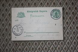 Ganzsache P 56 II / 02 Gelaufen -  Siehe Beschreibung ( 538 ) - Bayern (Baviera)