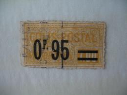 France Timbre Colis Postaux  Surchargé  N° 38  Oblitéré - Parcel Post
