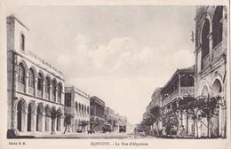 DJIBOUTI - La Rue D'Abyssinie - Gibuti