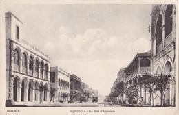 DJIBOUTI - La Rue D'Abyssinie - Djibouti