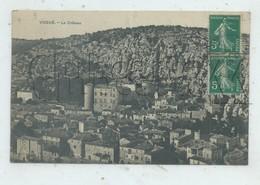 Vogüé (07) :Vue Générale Aérienne Sur Le Quartier Du Château  En 1910 PF. - Autres Communes