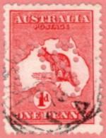 "AUS SC #OA2d U 1913 Official/ 1p Large ""OS"" (Die II) CV $6.50 - Perfins"