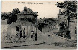 59 SOLESMES - Rue Du Nouveau Monde - Solesmes