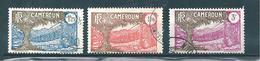 Colonie Timbres Du Cameroun De 1927/38  N°145/46 +148 Oblitérés - Cameroun (1915-1959)