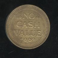 Jeton No Cash Value - Family Amusment Center - France