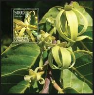 Comores 2011, Endemic Plants, MNH S/S - Comoros