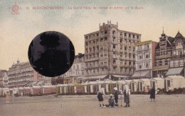 Carte Montage Blankenberghe Le Grand Hôtel De Venise Et Autres Sur La Digue - Blankenberge