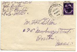 United States 1946 Cover Palo Alto, California - Veterans Bureau Hospital - Brieven En Documenten