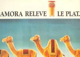PUB Publicité  NUGERON  J 142 Le Musée De La Rue AMORA RELEVE LE PLAT (moutarde) * PRIX FIXE - Advertising