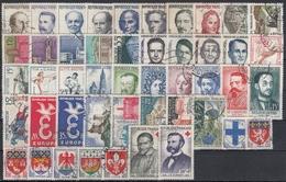 FRANCIA 1958 Nº 1142/1188 AÑO COMPLETO USADO - 1950-1959