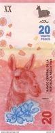 Argentina P.new 20 Pesos 2017 Unc - Argentina