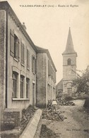 VILLERS-FARLAY ECOLE EGLISE 39 - Villers Farlay