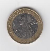 Great Britain UK £2 Two Pound Coin 2015 (Britannia) - Circulated - 1971-… : Monete Decimali