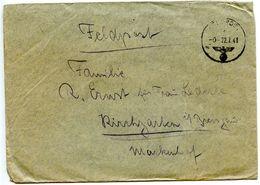 Germany 1941 WWII Cover Feldpost 04525 To Kirchzarten - Storia Postale