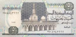 Egypt 5 Pounds, P-59 Sign. 19 UNC - Aegypten