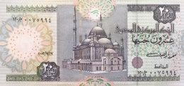 Egypt 20 Pounds, P-65b (2003) UNC - Aegypten