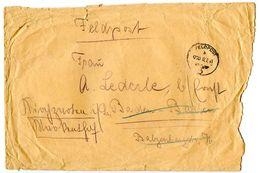 Germany 1941 WWII Cover Feldpost 044591a To Baden-Baden, Forwarded To Kirchzarten - Storia Postale