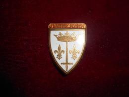 INSIGNE MARINE JEANNE D ARC FAB COURTOIS - Armée De Terre