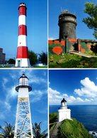 Taiwan - 2018 - Lighthouses - Maximum Cards Set - 1945-... Repubblica Di Cina