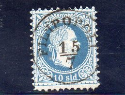 LEVANT 1867 O IMPRESSION FINE SIGNE' - Oriente Austriaco