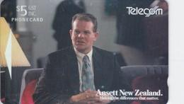 New Zealand, NZ-A-035, Ansett New Zealand, 2 Scans. - New Zealand