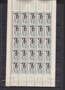 St Pierre Et Miquelon 1957 - N°353** - Feuille Complète (25 Timbres) TTB - St.Pierre & Miquelon