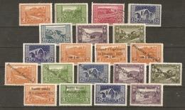 Albanie 1922/5 - Paysages/Paysages Avec Surcharges- Petit Lot De 20 - 11 MNH - 2 MH - 6 NSG - 1° - Vrac (max 999 Timbres)