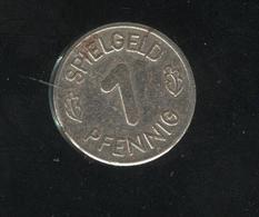 Jeton 1 Pfennig Spielgeld - Duitsland