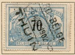AAFE-732    OCB Spoor 23   NORD BELGE /   THUIN - 1895-1913