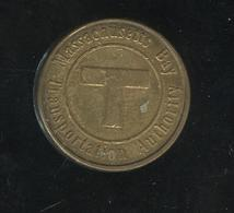 Jeton Massachussets Bay Transportation Autority - Sail Boston 1992 - Non Classés
