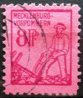 ALLEMAGNE    Zone Soviétique Mecklembourg-Pomeranie            N° 5            OBLITERE - Zone Soviétique
