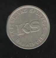 Jeton KS Kobenhavns Sporveje Rabatpolet - Sirène De Copenhague - Jetons & Médailles