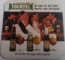 Posavasos Cerveza Tourtel. Bélgica. Años '90 - Portavasos