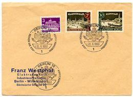 Germany, Berlin 1963 Commemorative Cover Visit Of U.S. President John F. Kennedy - Covers
