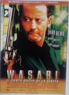 Folleto De Mano. Película Wasabi El Trato Sucio De La Ley. Jean Reno. Carol Bouquet. - Merchandising
