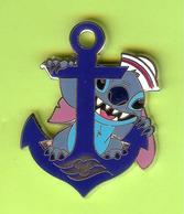 Pin's BD Disney Stitch Matelot Ancre - 9I18 - Disney