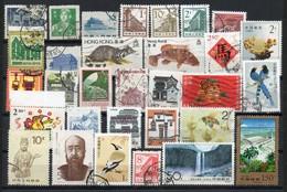 China Chine : (404) Lot De Timbres Oblitères - Collections, Lots & Séries
