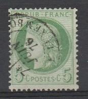 FRANCE 1870 à 1876 :   Type Cérès De 1849 - N° 53 - Oblitéré + - 1871-1875 Cérès