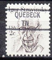 USA Precancel Vorausentwertung Preo, Locals Tennessee, Quebeck 841 - Vereinigte Staaten