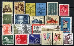 China Chine : (408) Lot De Timbres Oblitères - Collections, Lots & Séries