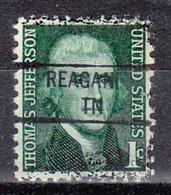 USA Precancel Vorausentwertung Preo, Locals Tennessee, Reagan 841 - Vorausentwertungen